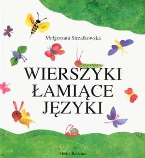 Wierszyki łamiące języki - okładka książki