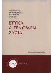 Etyka a fenomen życia - okładka książki