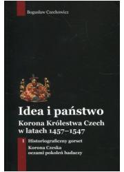 Idea i państwo Korona Królestwa - okładka książki