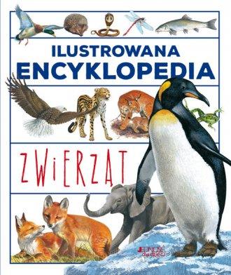 Ilustrowana encyklopedia zwierząt - okładka książki