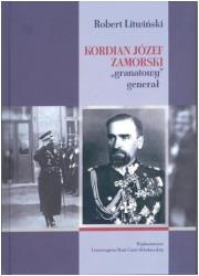 Kordian Józef Zamorski granatowy - okładka książki