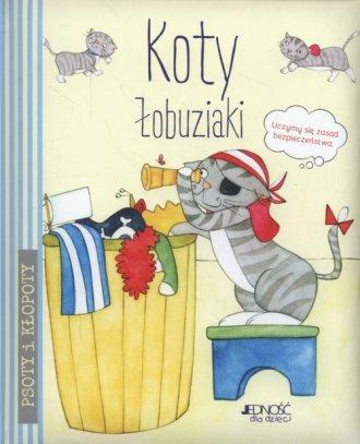 Koty łobuziaki - okładka książki