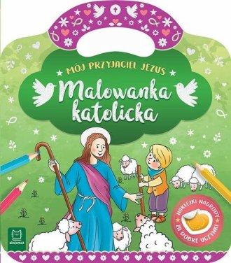 Malowanka katolicka Mój przyjaciel - okładka książki