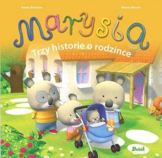 Marysia Trzy historie o rodzince - okładka książki