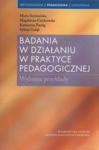 Badania w działaniu w praktyce - okładka książki