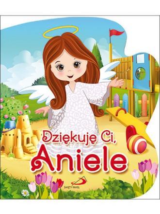Dziękuję Ci Aniele - okładka książki