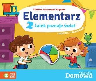 Elementarz 2-latek poznaje świat - okładka książki