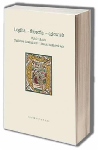Logika - filozofia - człowiek. - okładka książki