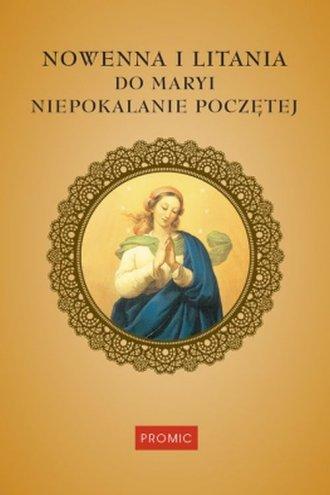 Nowenna i litania do Maryi Niepokalanie - okładka książki