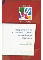 Pedagogika rodziny na początku - okładka książki