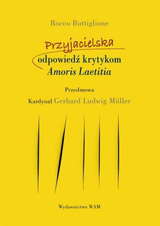 Przyjacielska odpowiedź krytykom - okładka książki