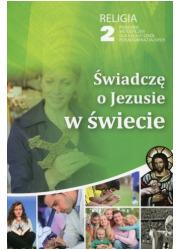 Świadczę o Jezusie w świecie. Szkoła - okładka podręcznika
