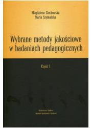 Wybrane metody jakościowe w badaniach - okładka książki