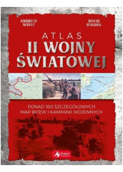 Atlas II wojny światowej - okładka książki