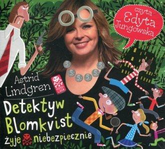 Detektyw Blomkvist żyje niebezpiecznie - pudełko audiobooku