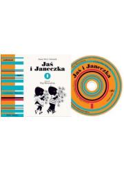 Jaś i Janeczka 1 - pudełko audiobooku