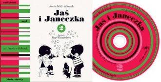 Jaś i Janeczka 2 (+ CD) - pudełko audiobooku