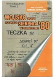 Wojsko wobec polskiego Sierpnia - okładka książki