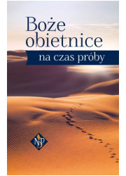 Boże obietnice na czas próby - okładka książki