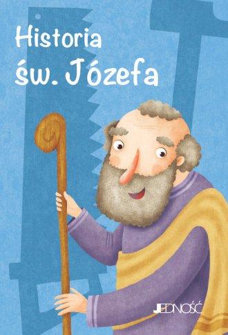 Historia św. Józefa - okładka książki