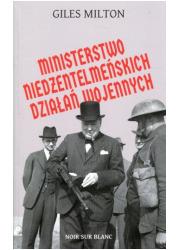 Ministerstwo niedżentelmeńskich - okładka książki