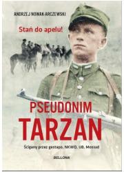 Pseudonim Tarzan - okładka książki