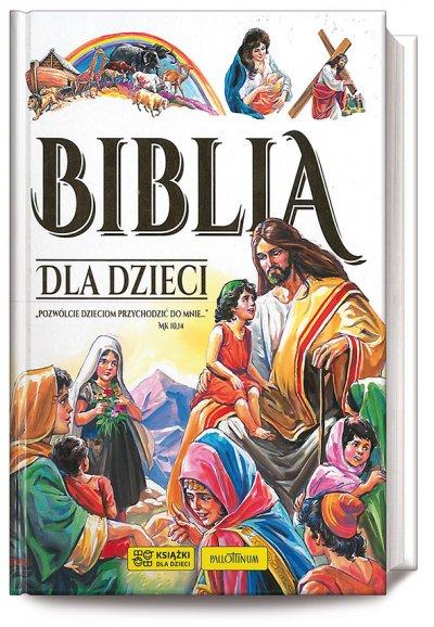 Biblia dla dzieci. biała - okładka książki