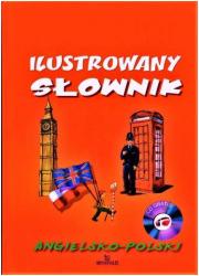 Ilustrowany słownik angielsko-polski - okładka podręcznika