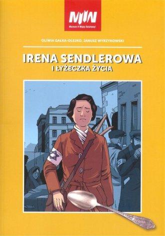 Irena Sendlerowa i łyżeczka życia - okładka książki