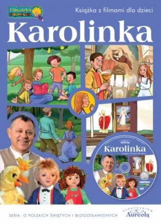 Karolinka - książka z filmami dla - okładka książki