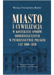 Miasto i cywilizacja w kontekście - okładka książki