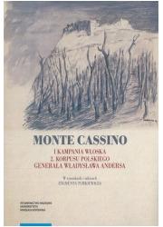 Monte Cassino I kampania włoska - okładka książki