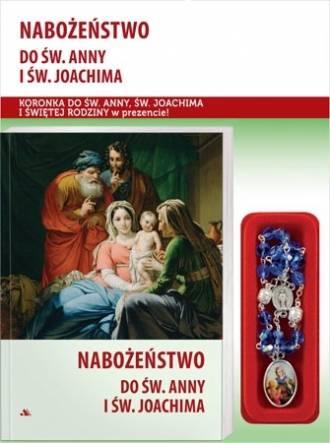 Nabożeństwo do św. Anny i św. Joachima. - okładka książki