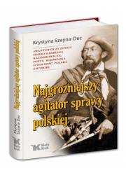 Najgroźniejszy agitator sprawy - okładka książki
