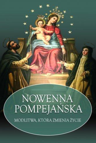 Nowenna Pompejańska. Modlitwa, - okładka książki