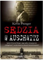 Sędzia w Auschwitz. Sędzia SS Konrad - okładka książki
