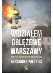 Widziałem oblężenie Warszawy - okładka książki
