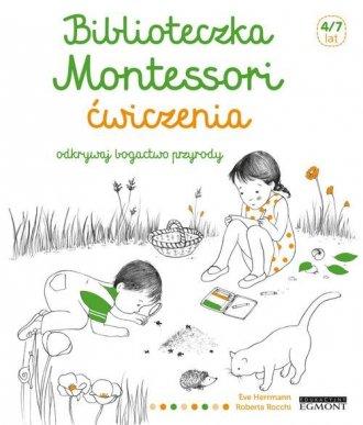 Biblioteczka Montessori Ćwiczenia - okładka książki