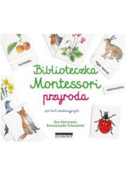 Biblioteczka Montessori Przyroda - okładka książki