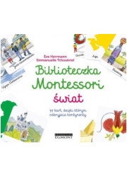 Biblioteczka Montessori Świat - okładka książki