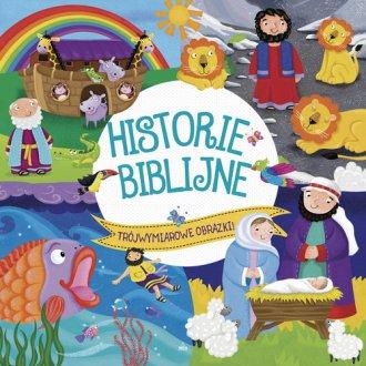 Historie Biblijne. Trójwymiarowe - okładka książki