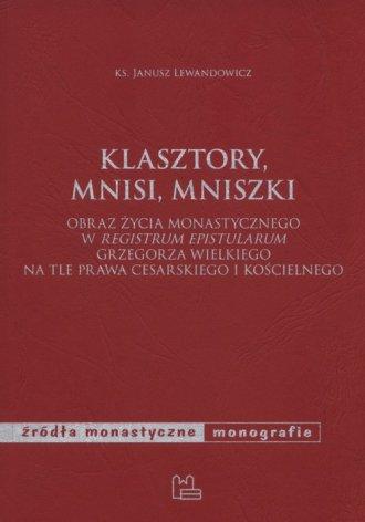 Klasztory, mnisi, mniszki. Obraz - okładka książki