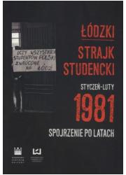 Łódzki strajk studencki Styczeń - okładka książki