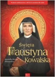 Święta Faustyna Kowalska. Apostołka - okładka książki