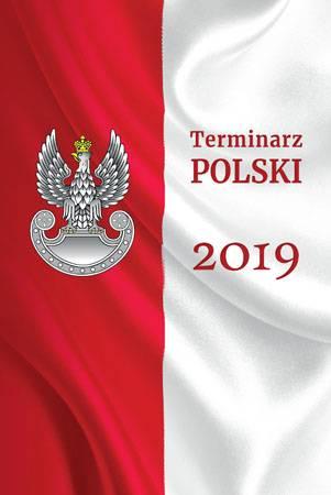 Terminarz polski 2019 - okładka książki
