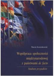 Współpraca społeczności międzynarodowej - okładka książki