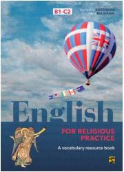 English for religious practice - okładka podręcznika