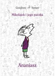 Mikołajek i jego paczka. Ananiasz - okładka książki