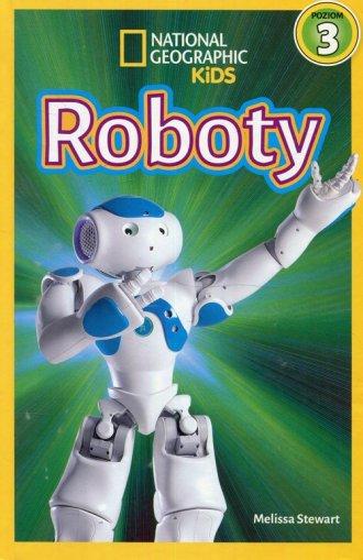 National Geographic Kids Roboty - okładka książki
