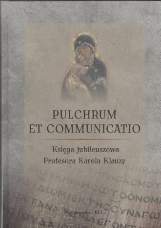 Pulchrum et Communicatio. Księga - okładka książki